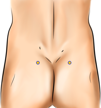 Acupressure Point - Bladder 48