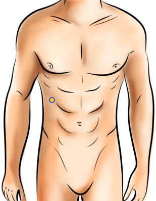 Acupressure Point - Spleen 16